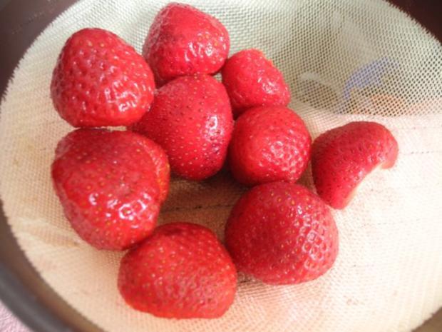 Smoothie : Erdbeer - Bananen - Aprikosen - Smoothie - Rezept - Bild Nr. 6