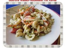 Salat: Wasabi-Nudelsalat mit Kaviar - Rezept