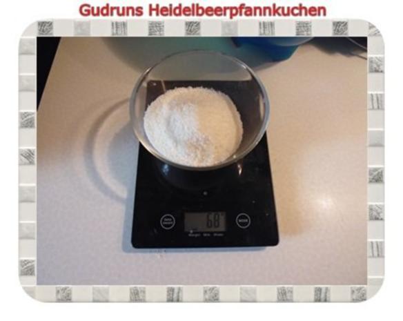 Kuchen: Heidelbeerpfannkuchen - Rezept - Bild Nr. 3