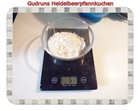 Kuchen: Heidelbeerpfannkuchen - Rezept - Bild Nr. 4