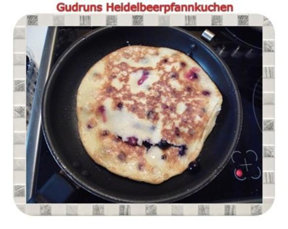Kuchen: Heidelbeerpfannkuchen - Rezept - Bild Nr. 9
