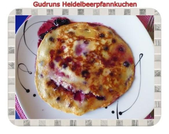 Kuchen: Heidelbeerpfannkuchen - Rezept - Bild Nr. 11