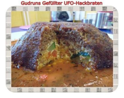 Hackfleisch: Gefüllte Hackfleisch-UFO`s - Rezept