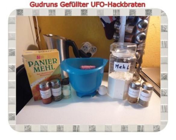 Hackfleisch: Gefüllte Hackfleisch-UFO`s - Rezept - Bild Nr. 3