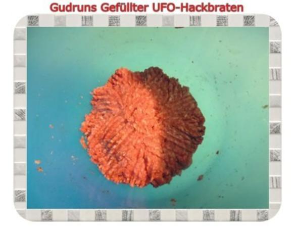 Hackfleisch: Gefüllte Hackfleisch-UFO`s - Rezept - Bild Nr. 5