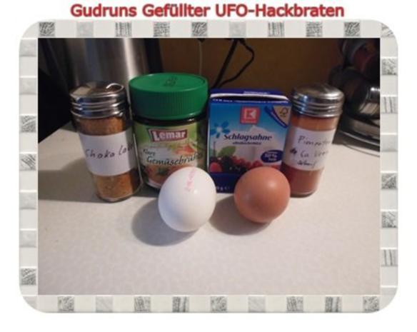 Hackfleisch: Gefüllte Hackfleisch-UFO`s - Rezept - Bild Nr. 13