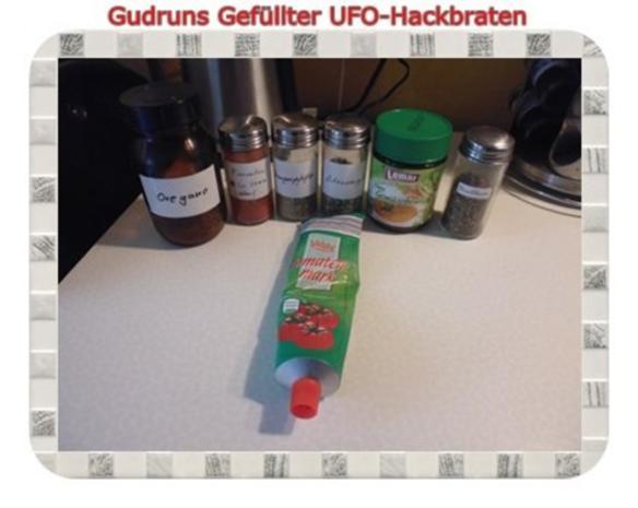 Hackfleisch: Gefüllte Hackfleisch-UFO`s - Rezept - Bild Nr. 20