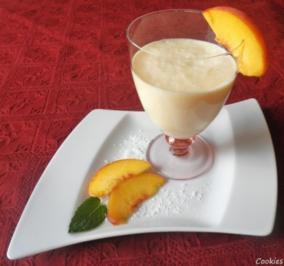 Pfirsich - Kokos - Smoothie ... - Rezept