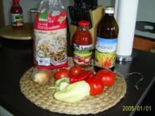 Ohne Fleisch: Vollkornnudeln mit fettarmer Tomatensauce - Rezept