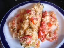 Zucchini mit Tomaten und Cous-Cous - Rezept