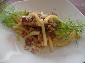 Maccronelli mit Sardinen - Rezept