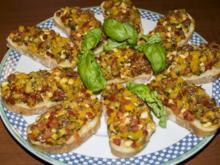 Bruschetta gratiniert - Rezept