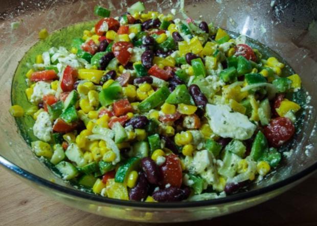 Salat: Foxys Paprikasalat - Rezept