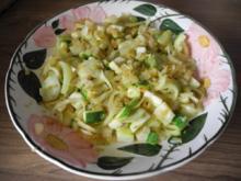 Schonkost : Fenchel - Zucchini gedünstet - Rezept