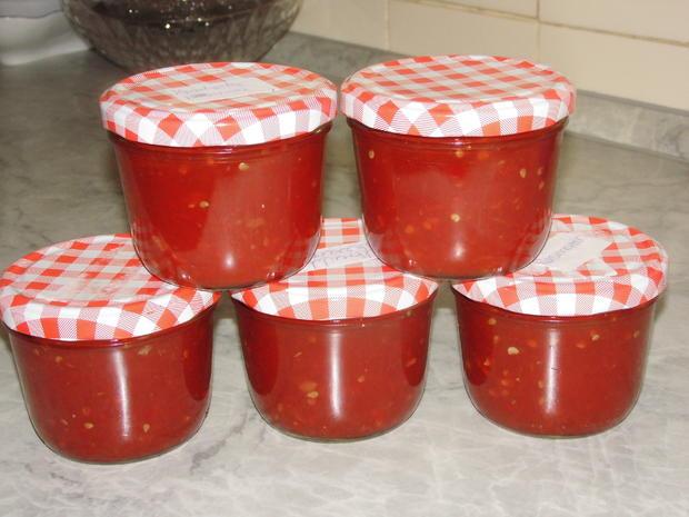 Tomaten-Chili-Konfitüre - Rezept - Bild Nr. 12