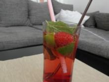Pinker Hugo - Rezept