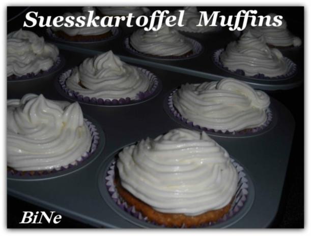 BiNe` S SUESSKARTOFFEL MUFFINS - Rezept - Bild Nr. 8