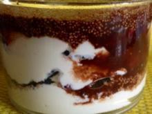 Joghurt mit  Amaranth und Aroniabeeren - Rezept