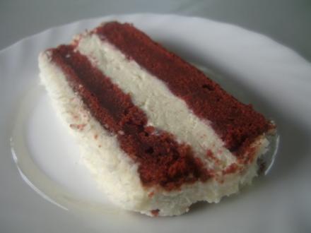 """""""Red Velvet Cake"""", Roter-Samt-Kuchen - Rezept"""