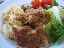 Auflauf: Pasta, Pollo und Pilze ;-) - Rezept