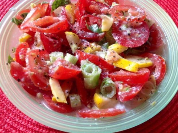 Kürbis-Tomatensalat - Rezept - Bild Nr. 2