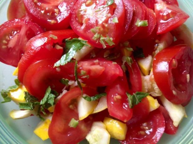 Kürbis-Tomatensalat - Rezept - Bild Nr. 7