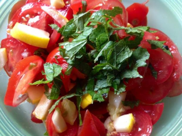 Kürbis-Tomatensalat - Rezept - Bild Nr. 8
