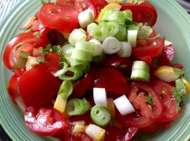Kürbis-Tomatensalat - Rezept - Bild Nr. 9