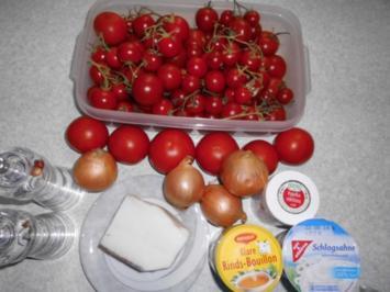 Suppen: einfache Tomatensuppe - Rezept