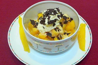Afrikanischer Früchte-Amarula-Traum mit Kokossahne - Rezept