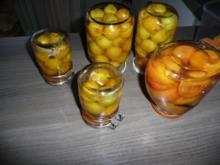 Mirabellen & Aprikosen einkochen mal anders. - Rezept