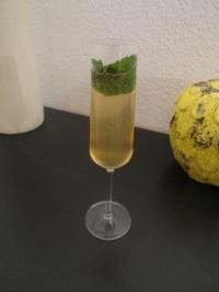 Champagner Hugo - Rezept