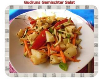Salat: Gemischter Gemüse-Salat - Rezept