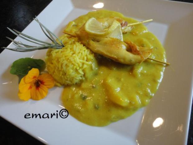 "Hühnchen Curry ""Hawaii"" - Rezept - Bild Nr. 12"
