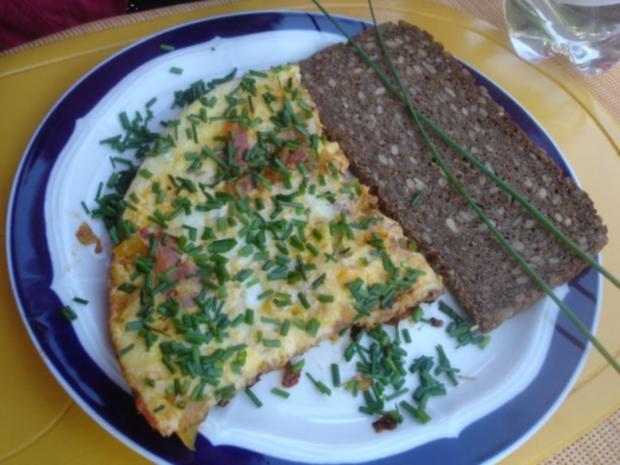 Pikantes Omelett mit Wachteleiern - Rezept - Bild Nr. 11