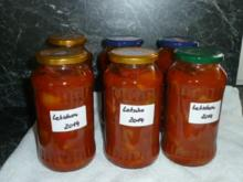 Letscho mit Zucchini - Rezept