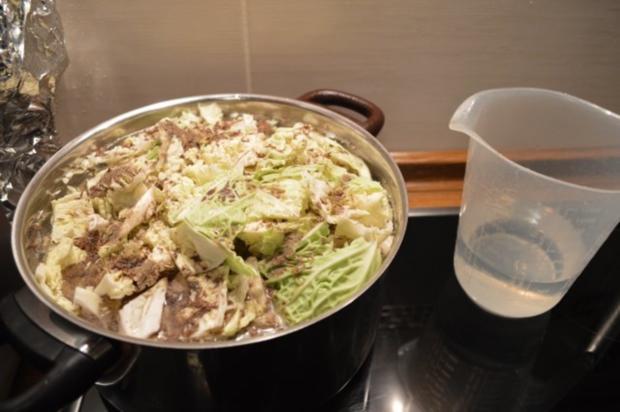 Wirsingkohl auf Schweine- Rippchen - Rezept - Bild Nr. 4