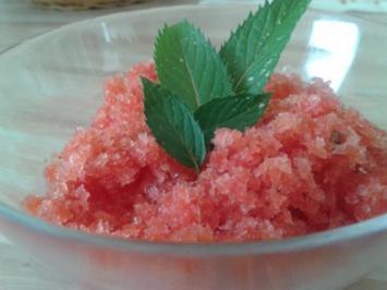 Wassermelonen-Eis - Rezept