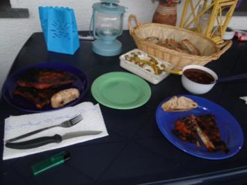 Rezept: Gegrillte Schälrippchen mit selbstgemachter BBQ Sauce