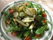 Lauwarmer Schwarzwurzel-Rosenkohl-Salat - Rezept