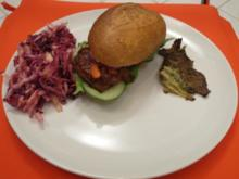 Weltbester Burger mit selbst gemachter BBQ Sauce - Rezept
