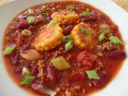 Hackpfanne mit Mais und roten Bohnen - Rezept