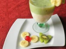 Bananen - Kiwi - Smoothie - Rezept