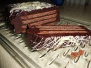 Kuchen: Schoko-Keks-Kuchen - Rezept
