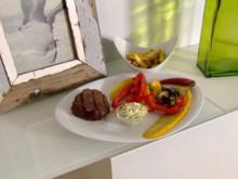 Weiderind mit selbstgemachter Kräuterbutter und Applaus & Grillgemüse (Alexander Leipold) - Rezept