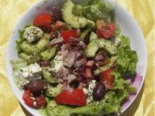 A: Bauernsalat steirisch - Rezept