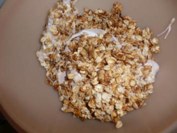 Weihnachtsgebäck : Haferflocken Karamell Plätzchen ca. 45 Stück - Rezept