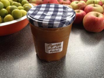 Rezept: Greg's Mirabellen-Apfel JAM