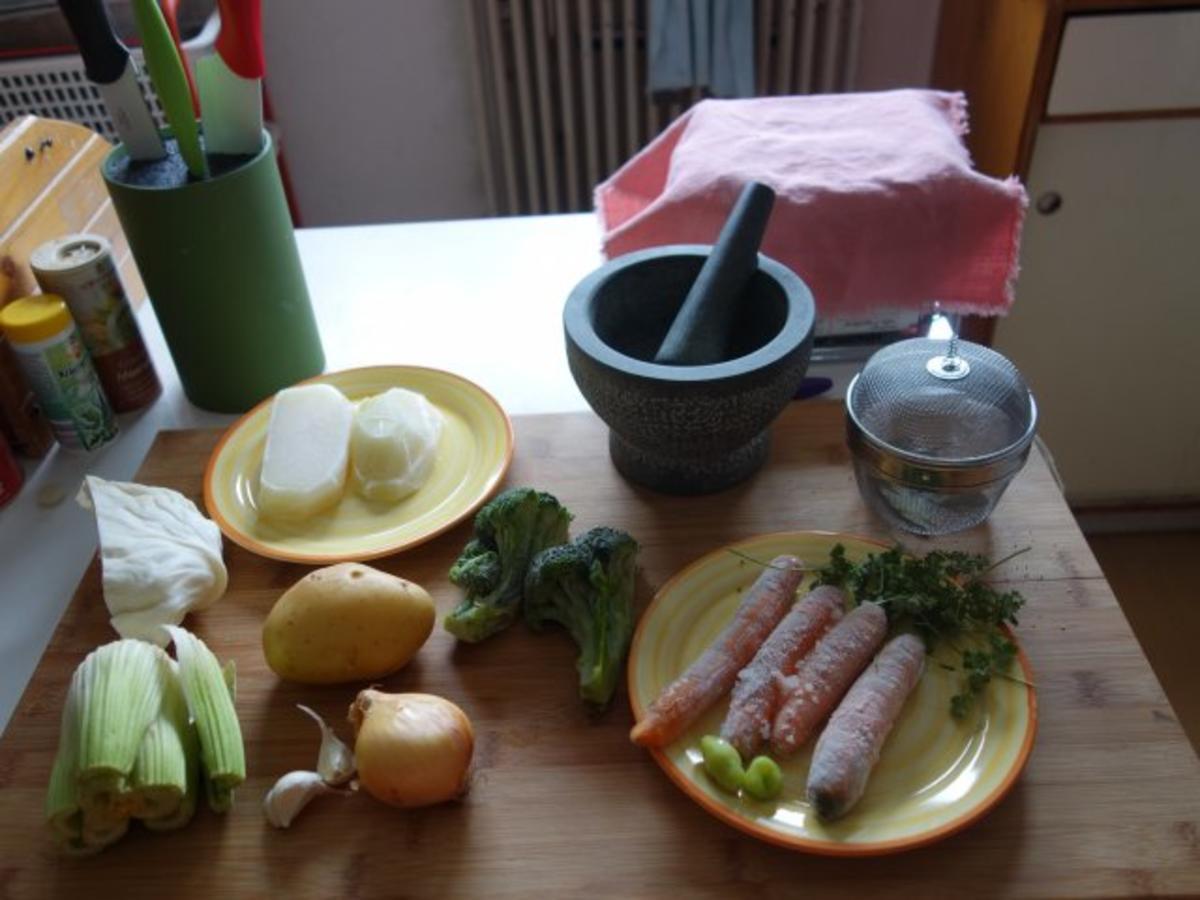 Waltls Gemüsesuppe - Rezept von Waltl