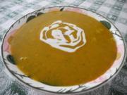 Schonkost : Gemüse - Cremsuppe mit Mandelsahne - Rezept